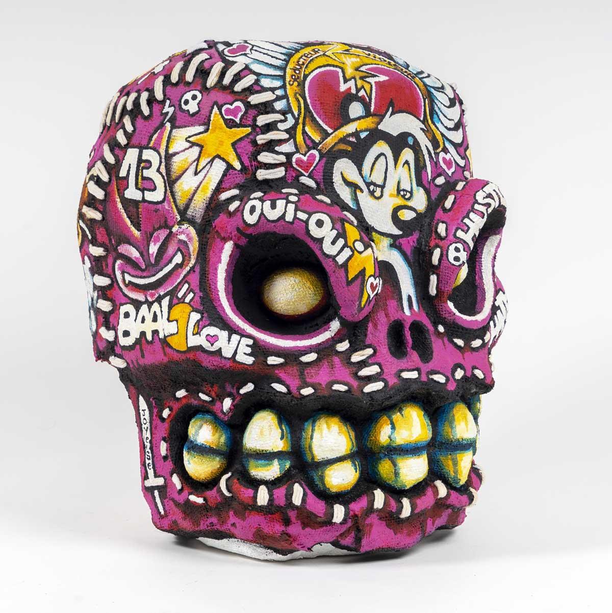 Sculpture Vùdù Corporation - Artefacts Skullz